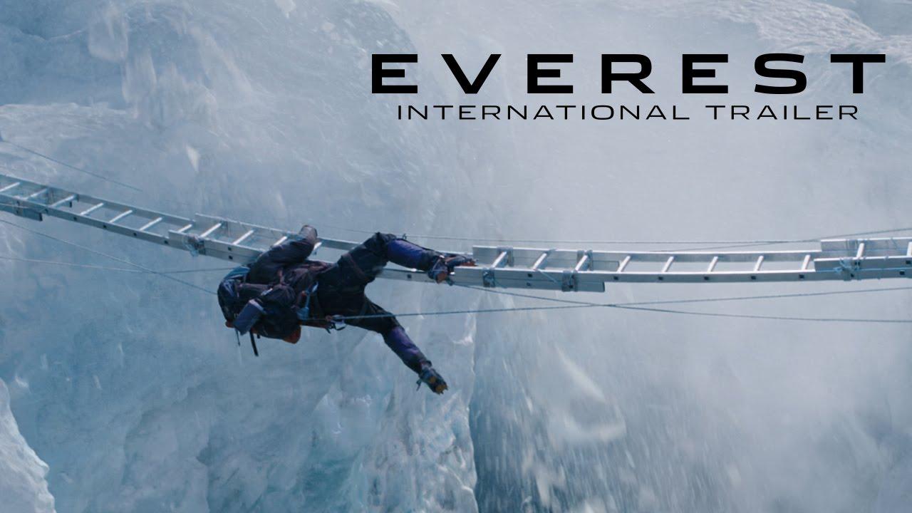 Everest (2015)  BRscreener  Inspirada en los acontecimientos que tuvieron lugar durante un intento por alcanzar el pico más alto del mundo, narra el
