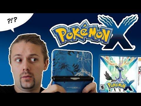 Pokémon X/Y RecenSIOne LOL + Unboxing 3DS