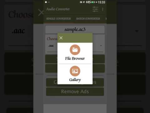 Android Audio Converter