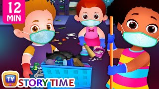 Clean and Green Neighbourhood + More Good Habits Bedtime Stories & Moral Stories for Kids - ChuChuTV