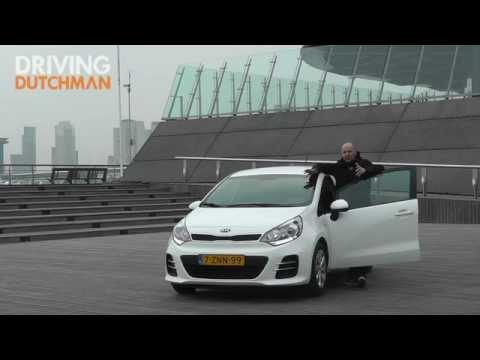Persintroductie Kia Rio modeljaar 2015 Driving-Dutchman