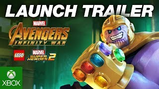 Official LEGO® Marvel Super Heroes 2 Infinity War Trailer