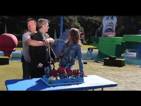 Wipeout Season 6 Behind The Scenes! Jill Wagner and John Henson Funny Interviews!