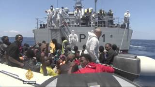 Witnessing rescue efforts for Mediterranean migrants