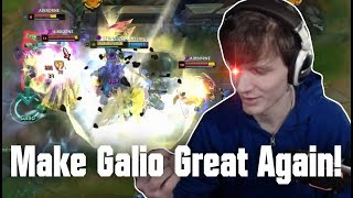Hashinshin: How to make Galio VIABLE again!   The last AP Bruiser?