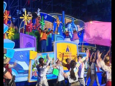 Disney float highlight Shanghai tourism festival