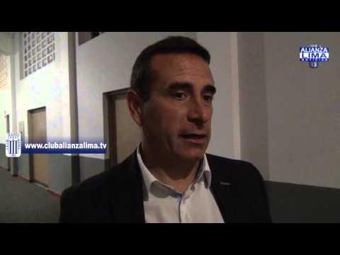 """Guillermo Sanguinetti: """"Como equipo mas grande del Perú hicimos un gran partido"""""""