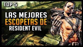 Top 5: Escopeta en Resident Evil