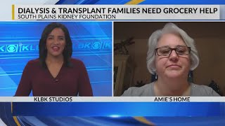 Lubbock dialysis & transplant families need grocery help