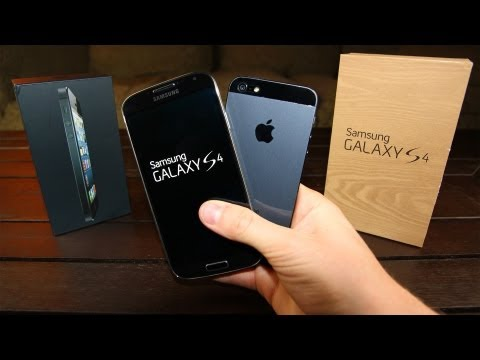 Samsung Galaxy S4 vs iPhone 5: in-depth Review