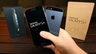 Samsung Galaxy S4 vs iPhone 5_ in-depth Review