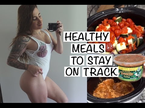 Healthy Meals for Lazy People || Two Fav Crockpot Recipes