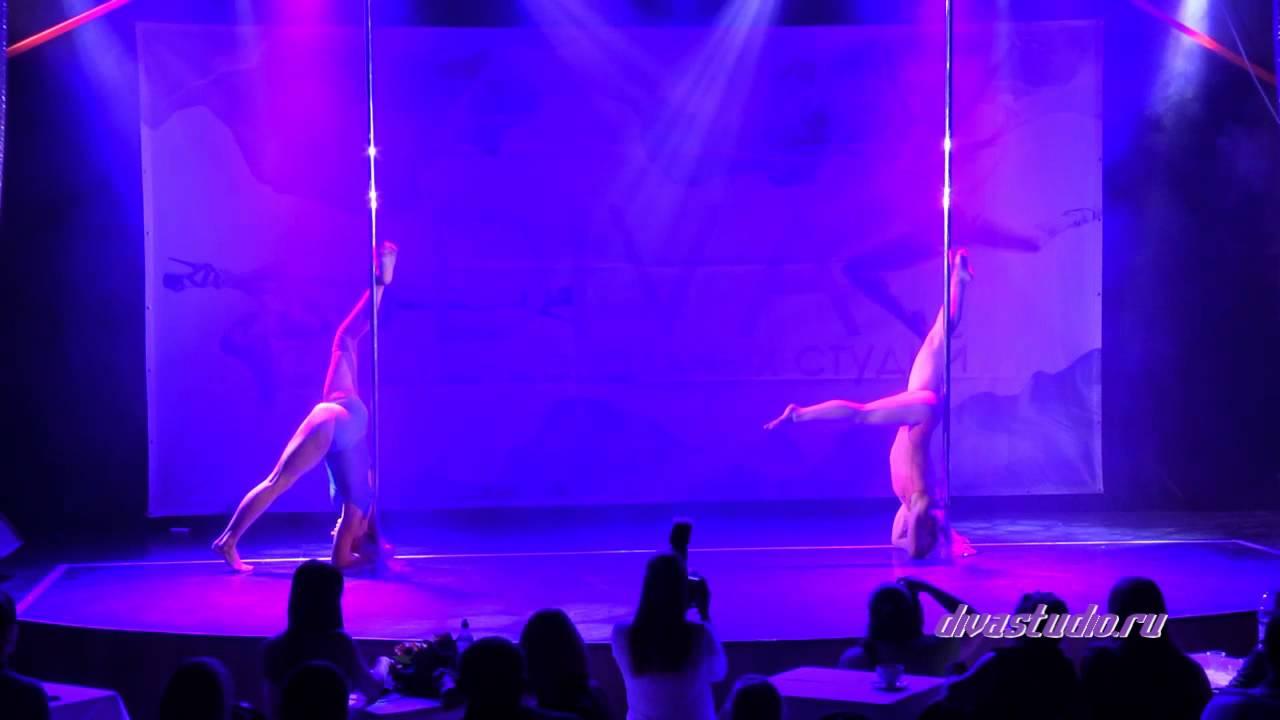 """Отчетный концерт Pole Dance в клубе """"Олимпия"""" 07.06.2015 года. Педагоги Ольга Тен и Нина Исаева"""