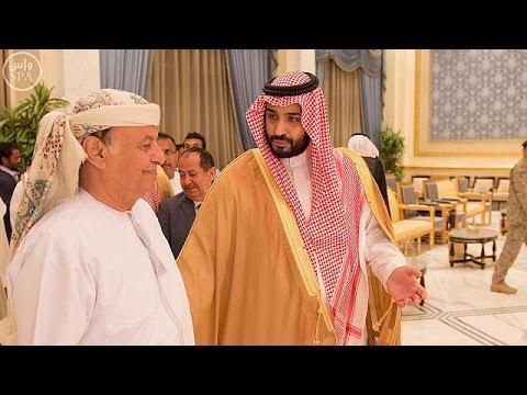 Yemen President Hadi arrives in Riyadh amid Saudi-led airstrikes