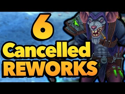 6 CANCELLED REWORKS That Didn't Make It Into League Of Legends