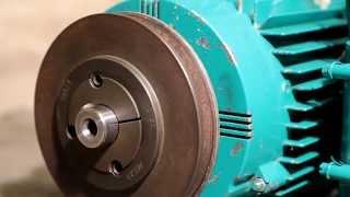 1.1kw Brook-Crompton induction motor