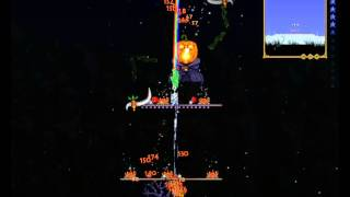 Terraria Nuit pumpkin Halloween en solo (final wave) technique/solution facile, Event moon