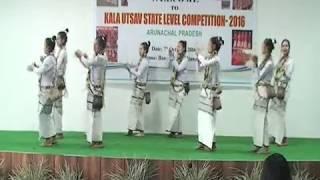 Download KALA UTSAV 2016: DANCE BY GNMHSS AALO , West Siang Arunachal Pradesh 3Gp Mp4