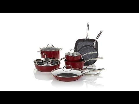 Curtis Stone DuraPan Nonstick 13pc Forged Cookware Set