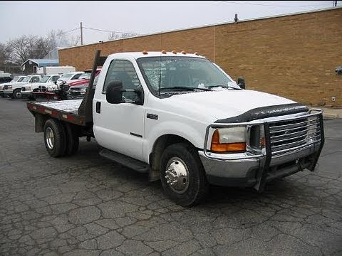 Dually For Sale >> 99 F350 Flatbed Dually 7.3 Powerstroke diesel 6 speed! 2wd 1258 - YouTube