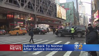 NYC Subway Service Back To Normal After Bombing