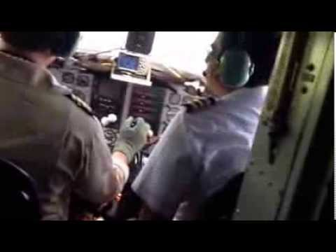 DC 3 landing puerto inirida guainia Colombia
