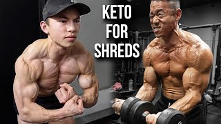How We Use The Ketogenic Diet to Get SHREDDED || Variations of Keto