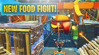 *NEW* Fortnite Food Fight LTM! (Tomatohead vs Beef Boss)