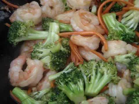 Shrimp with Broccoli Stir Fry Recipe