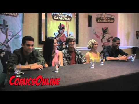SDCC 2012: Power Rangers Samurai - Press Conference Part 2