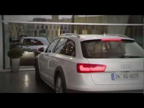 Audi A6 Allroad Quattro 2013, тест-драйв
