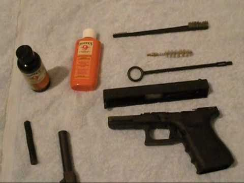 how to field strip and clean Glock 23