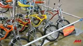 60's Schwinn Muscle Bikes -- Sting Rays and Krates at MCACN 2015