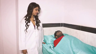Hot lady doctor Romance video