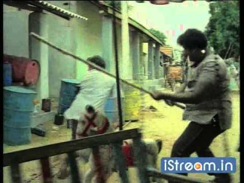 Chakravarthy: Chiranjeevi fights with a stick!