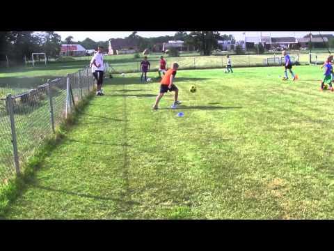 CZ6-III Obóz Piłkarski KS Talent-Dzień V-Popołudniowy Trening-Pracujemy W Grupach-Trąba Powietrzna
