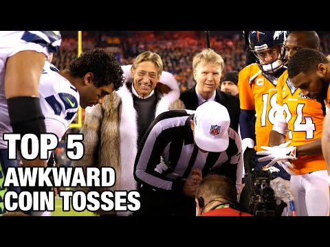 Top 5 Most Awkward Coin Toss Moments in NFL History   NFL