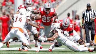 Ohio State vs. Bowling Green 2016 Highlights