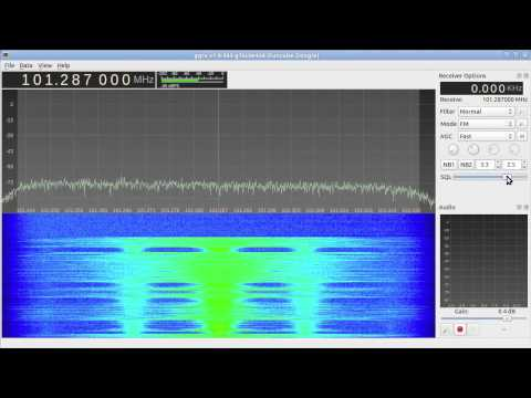 Broadcast FM reception with Funcube Dongle and Gqrx