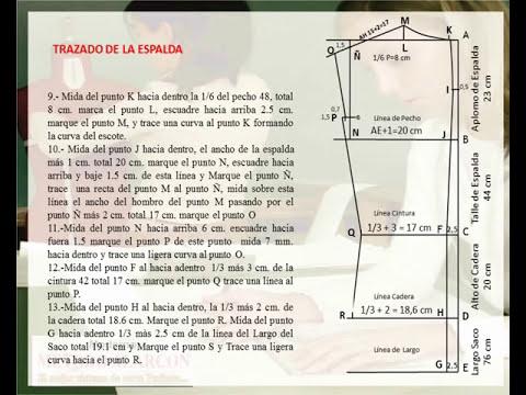 LIBRO SASTRERIA MASCULINA - VIDEO TUTORIAL DE DESARROLLO