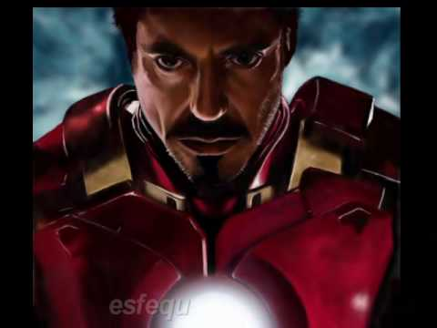 Speed Painting : Iron Man 2 by esfequ efq