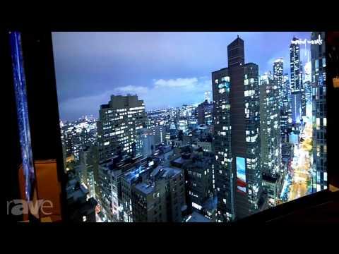 E4 AV Tour: Samsung Demos Curved 55-Inch S9C OLED TV
