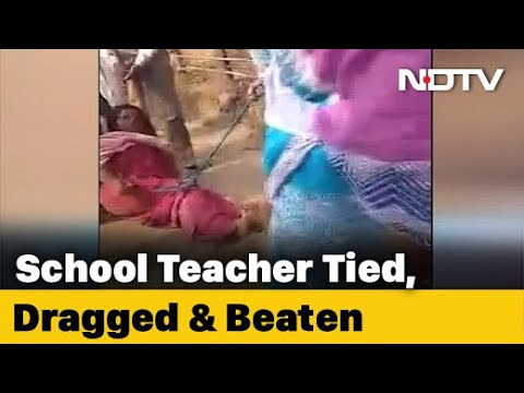 Bengal Woman Teacher Tied, Dragged On Road. Trinamool Leader Led Assault