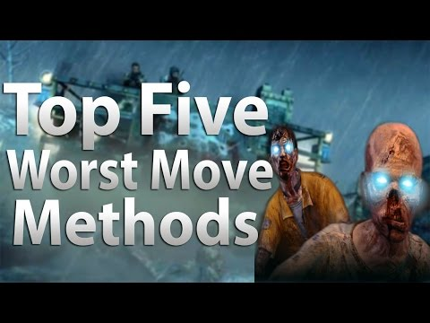 TOP 5 Worst Transportation Methods in Call of Duty Zombies Black Ops 2 Zombies Black Ops WaW