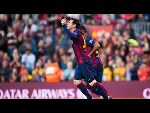 Lionel Messi vs Getafe (Home) - La Liga (28/04/15) 720p by LM10CompsHD