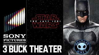 Affleck not directing THE BATMAN, Sony isn't selling Sony Pictures, THE LAST JEDI thoughts