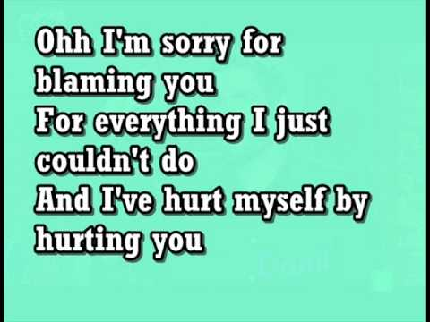Christina Aguilera Hurt (lyrics) video