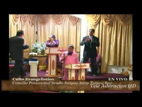 Culto Evangelistico Concilio Pentecostal Senda Antigua AMIP Tampa Bay. 01-10-2016