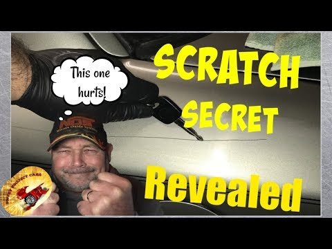 Cool Trick on FILLING Scratches & Paint Chips.... DIY!!!