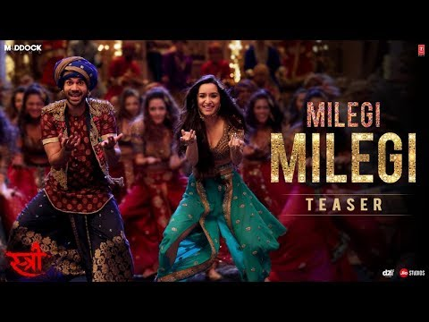 Song Teaser: Milegi Milegi | STREE |  Video Song Releasing ► Tomorrow